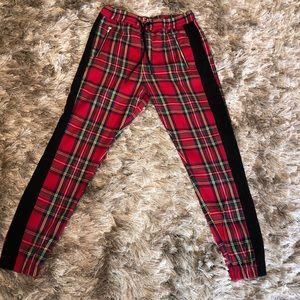 Plaid Men's Jogger Pants